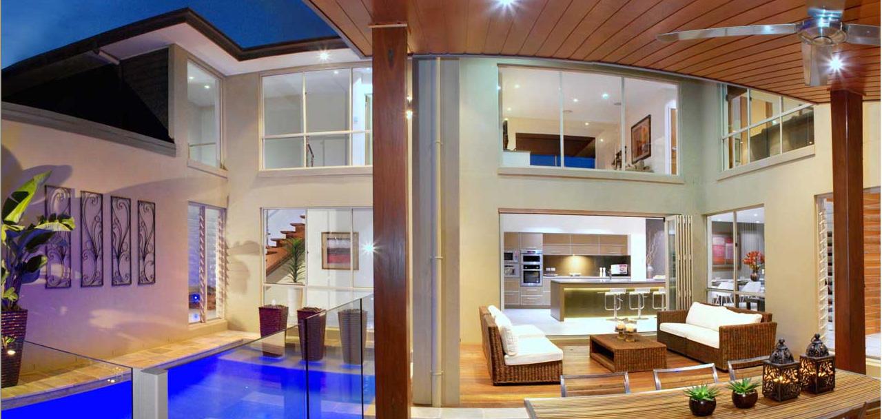 Modern luxury: vanity range