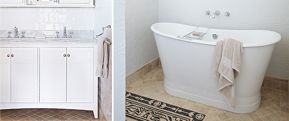 Get the look: Curvaceous bathrooms