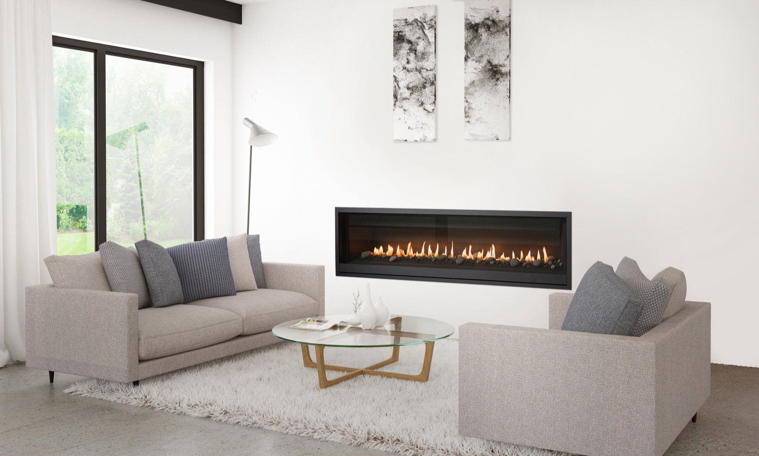 Contemporary design: the hottest fireplace trends