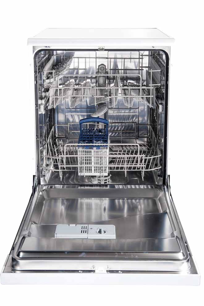 Cleaning up in style: the feature-full Bellini dishwasher