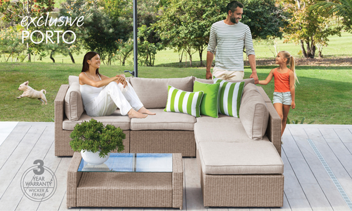 outdoor furniture range