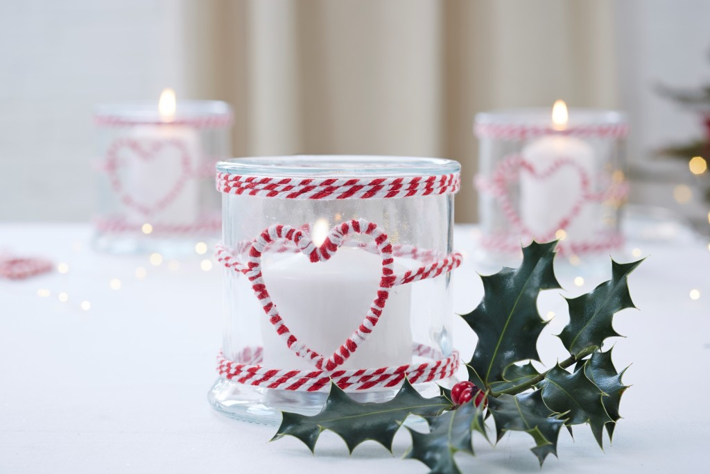 Homewares Nordic Christmas Heart Glass