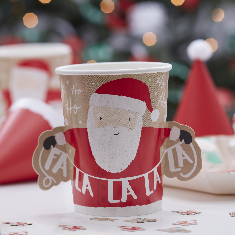 Christmas Santa Paper Cups
