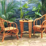 Furnishing with class: cane furniture