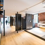 Abey's architecturally designed showroom