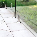 A DIY solution: frameless glass fencing