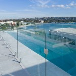 Safe and stylish glass pool fencing