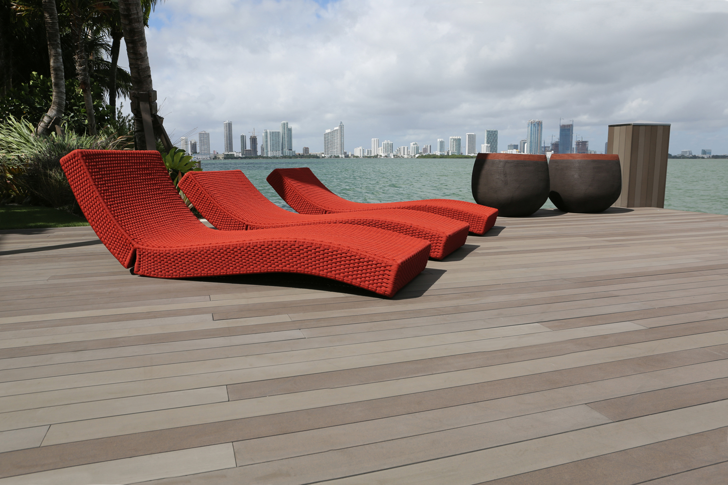 Terrace of the future