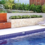 Touch of luxury: contemporary garden