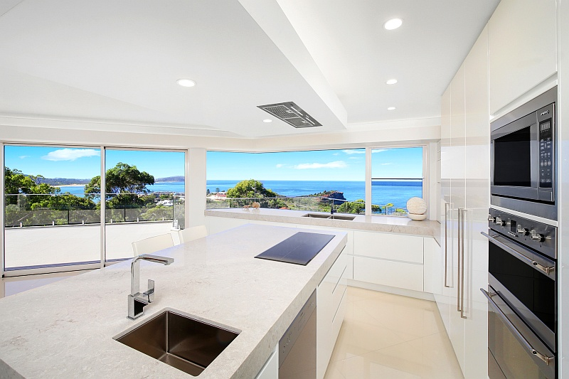 Room with a view: a luxury custom home