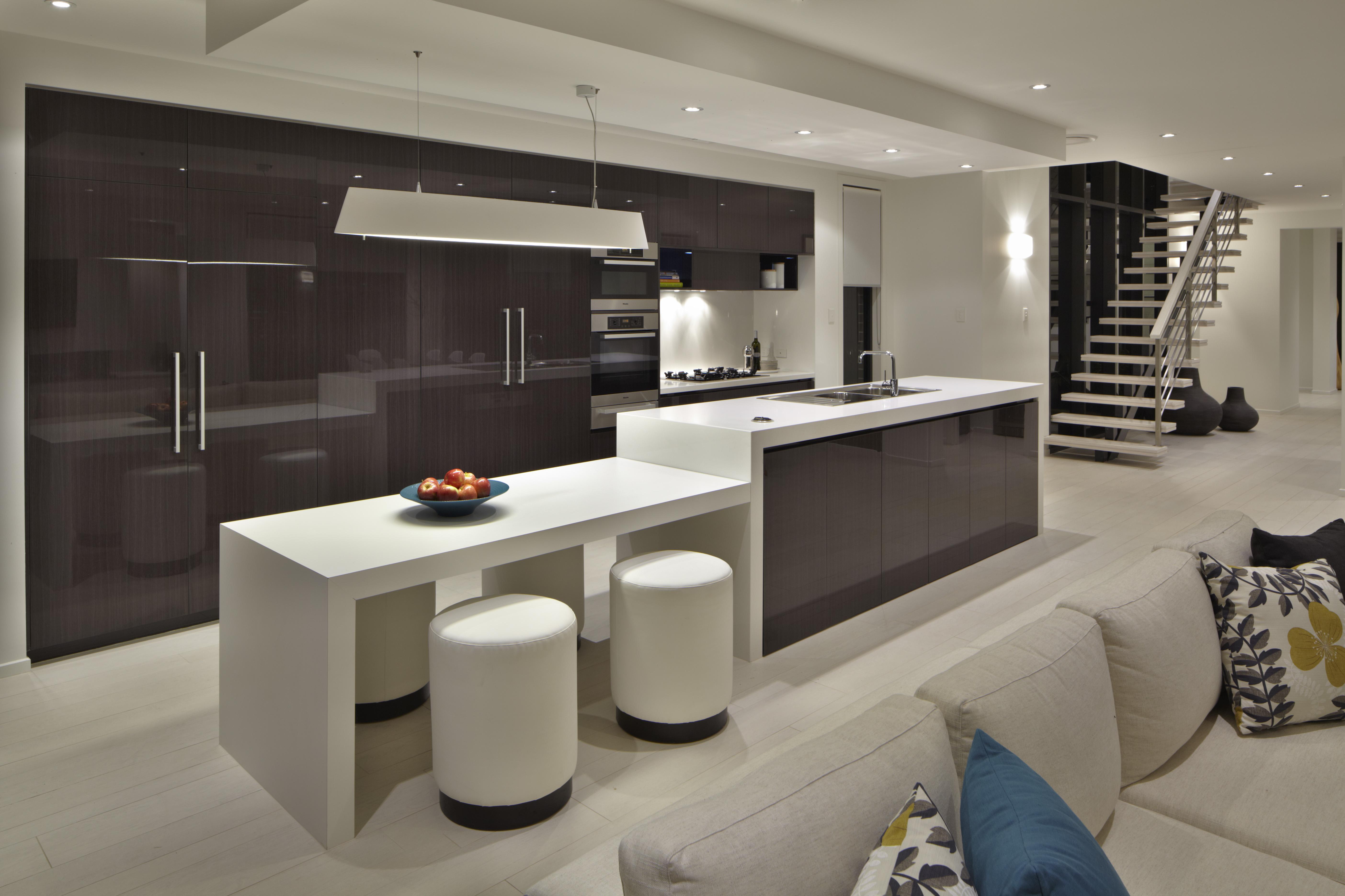 Architectural masterpiece: the kitchen