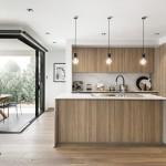 Functional style: an ultra-modern facade