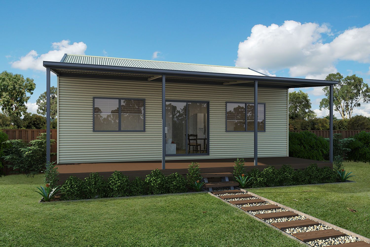 Build your own stylish steel kit homes completehome for Complete home building kits