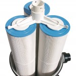 Water saving cartridge filters
