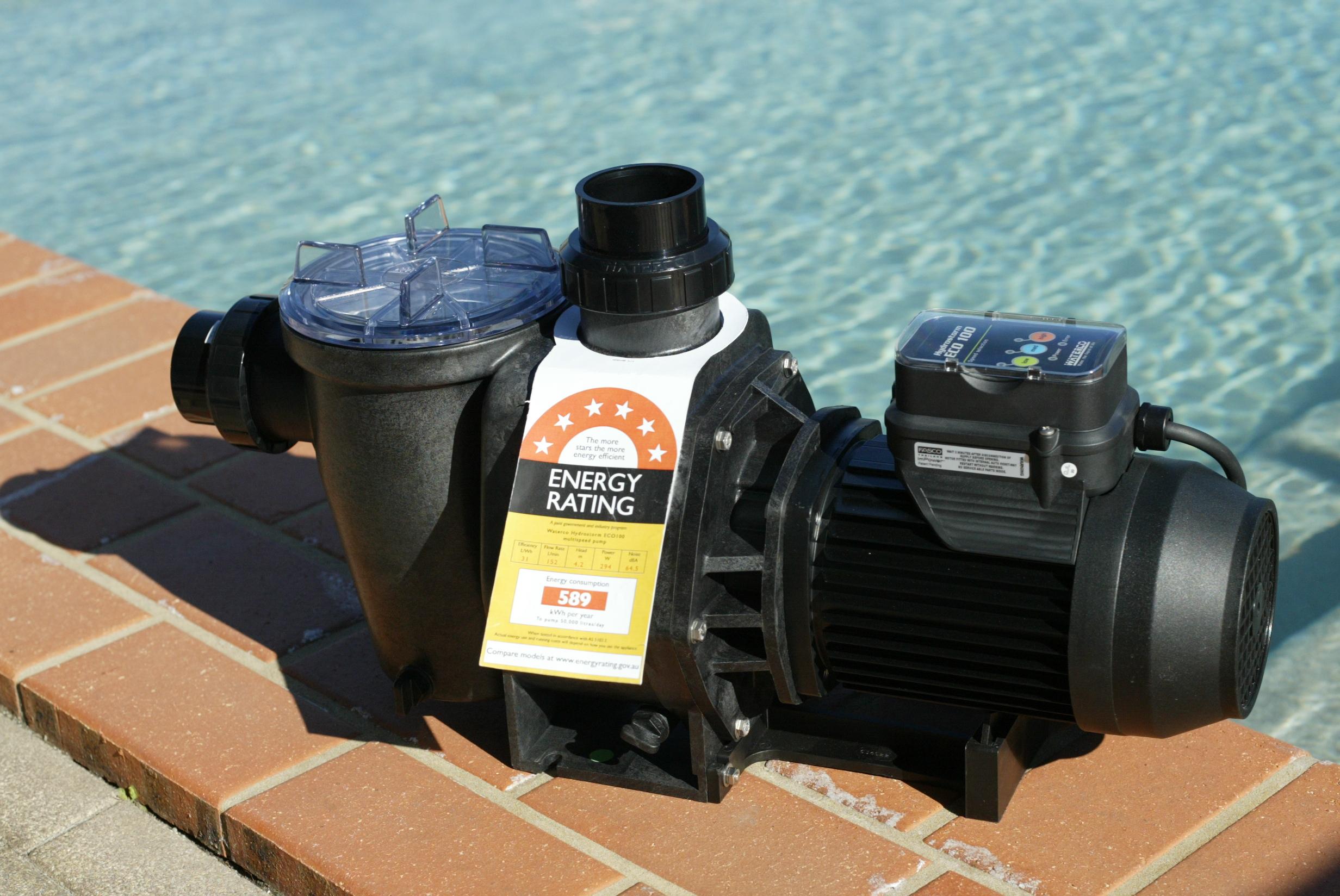 The Waterco pool pump range