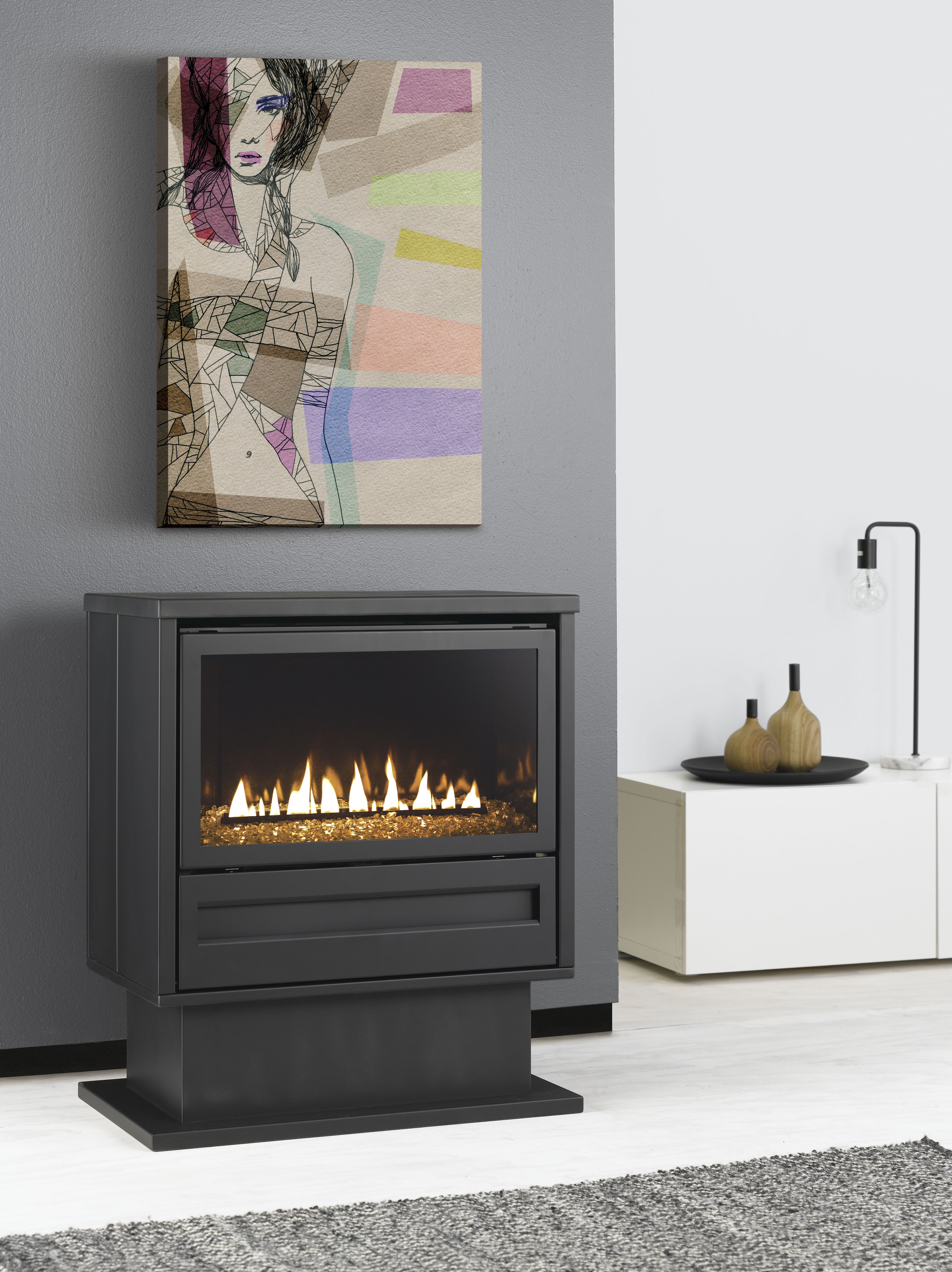 The Archer: More heat, less energy, lower bills - single burner