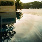 Sea of tranquility: a magic infinity pool