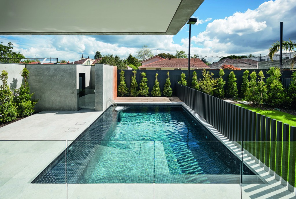 Water memory: recreating a family pool
