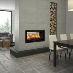 Seeing double: new see-through fireplace range