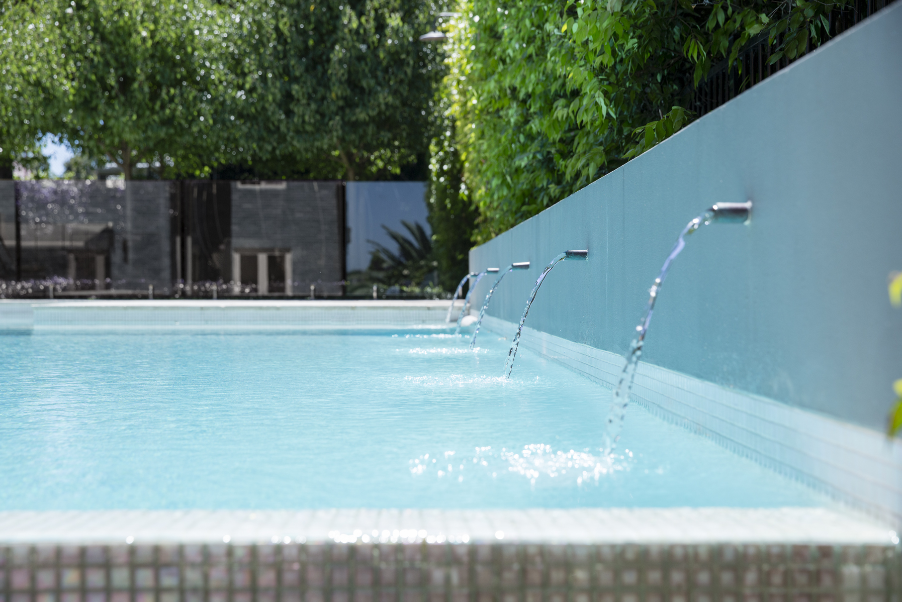 Mind, body and soul: a therapeutic garden by design White Pools