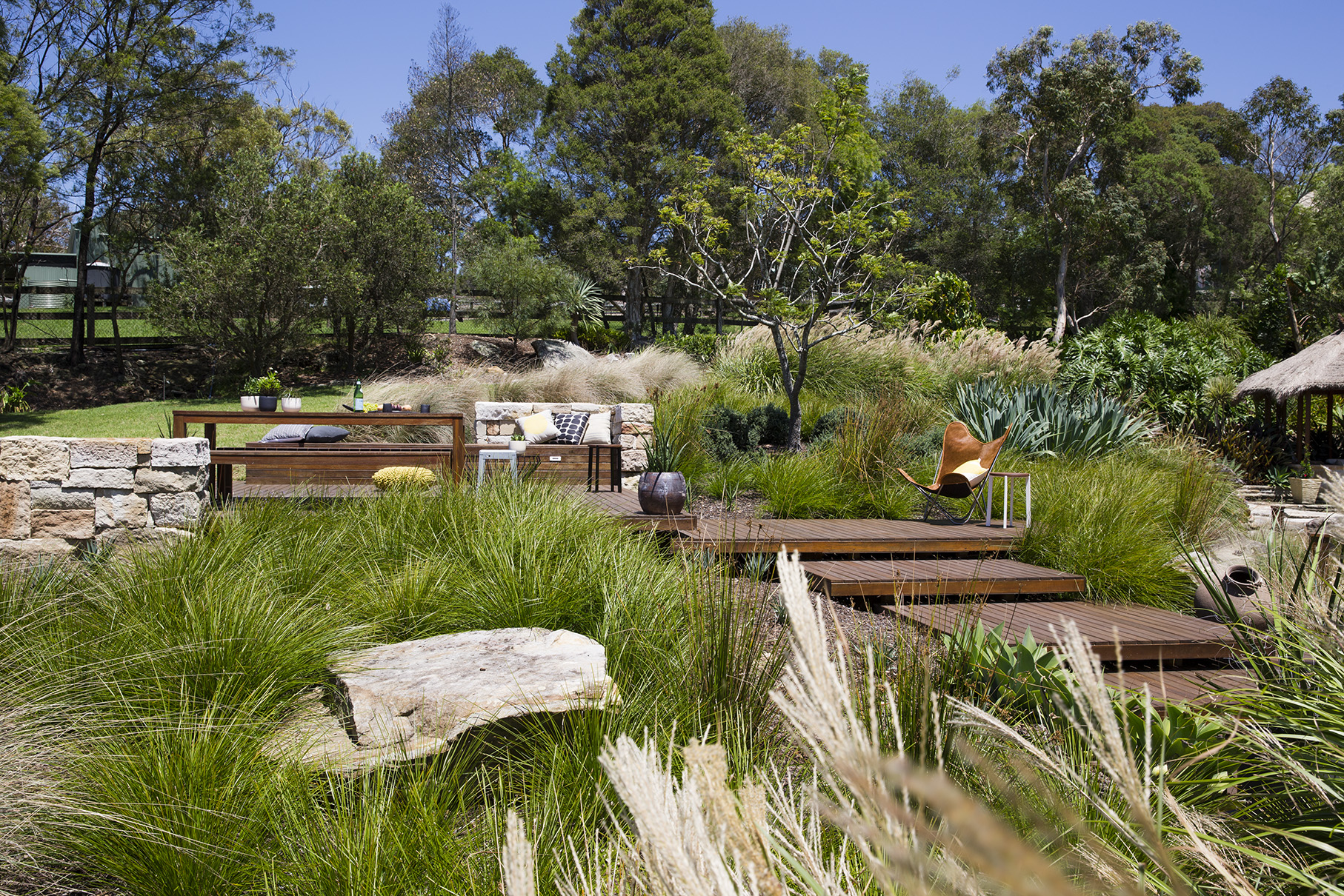 Mind, body and soul: a therapeutic garden by design Winding Path 3