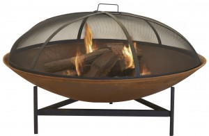 Turning up the heat: Inside this season's hottest fireplace products - the outdoor firepit is a great entertaining option