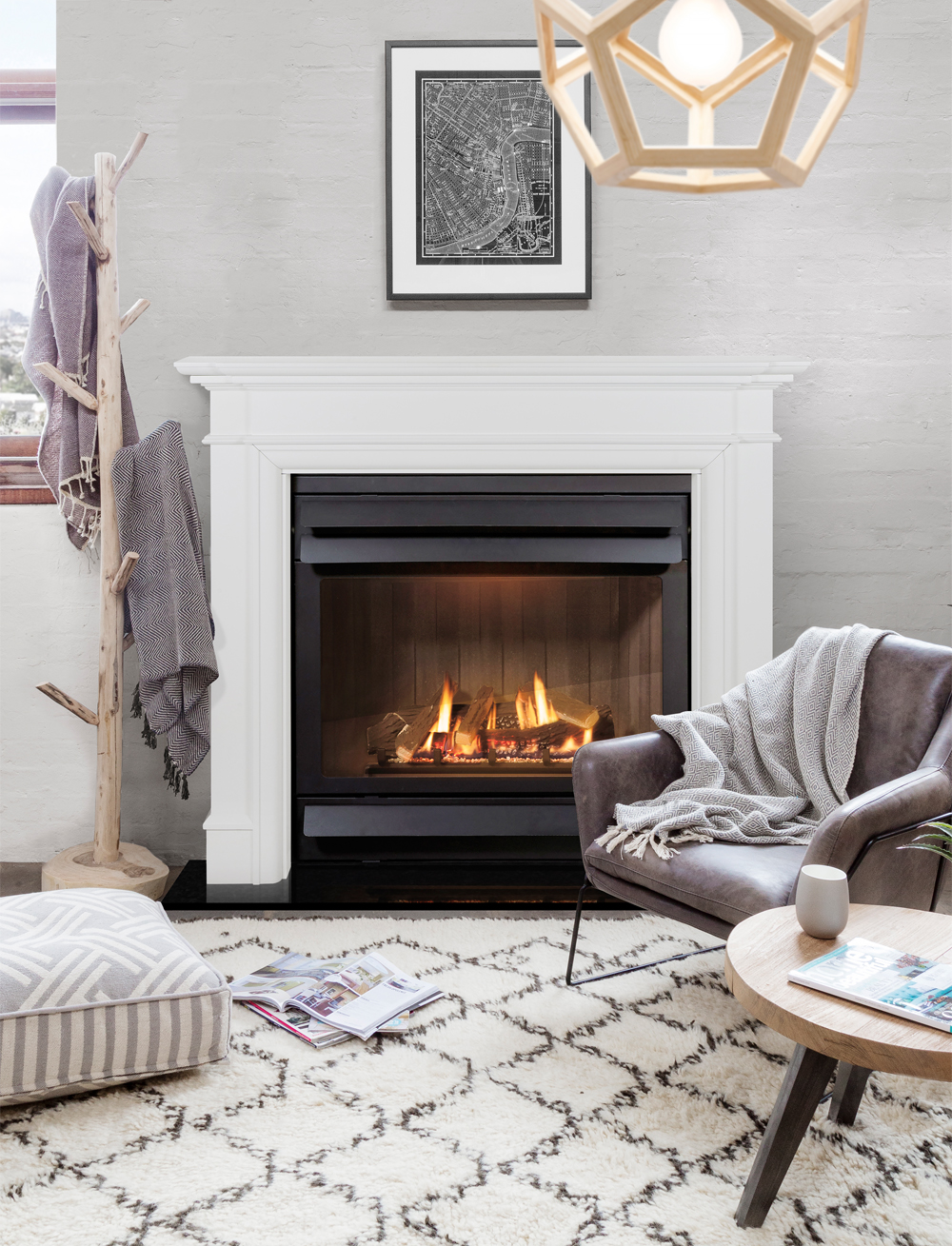 Turning up the heat: Inside this season's hottest fireplace products - indoor wood gas fireplace