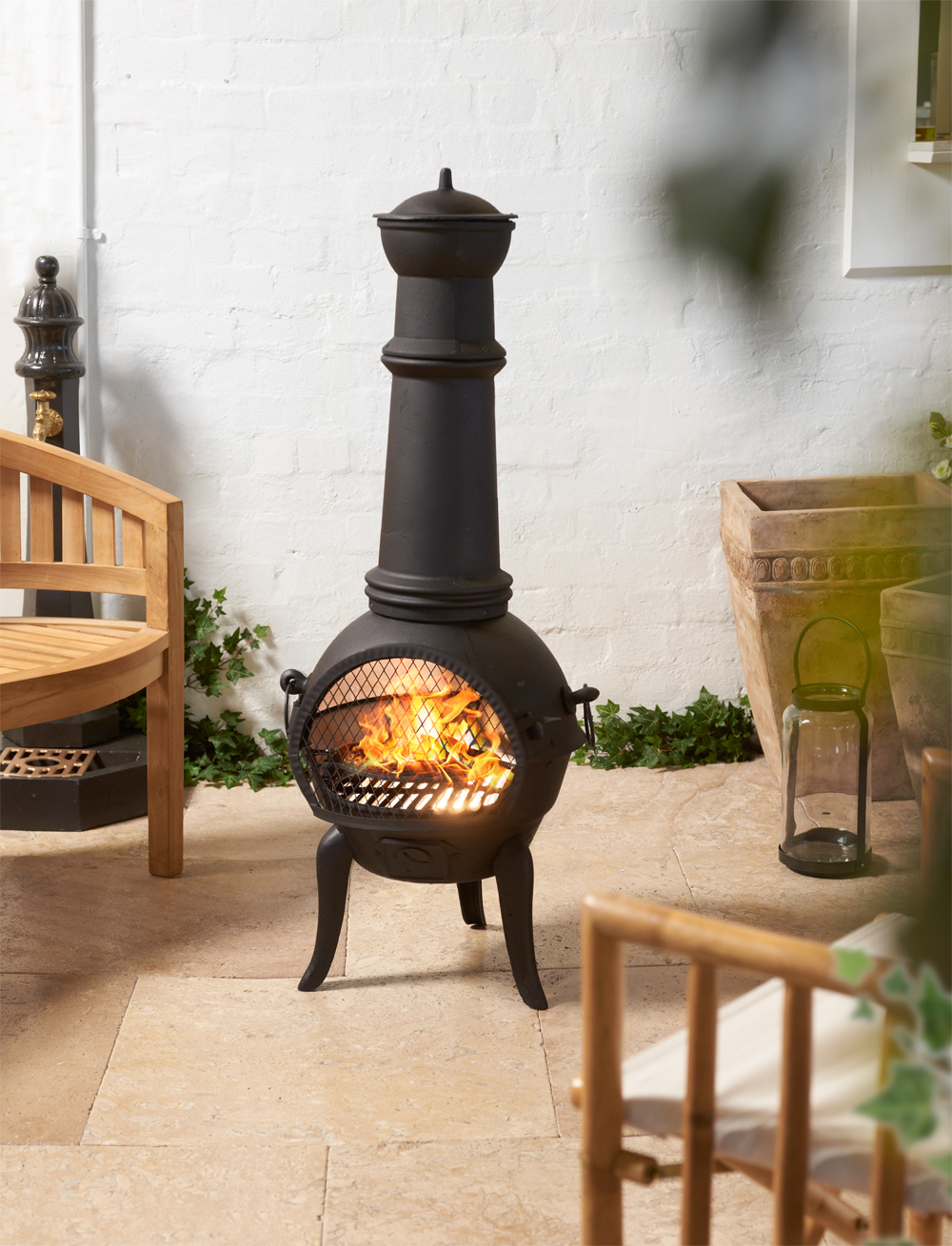 Turning up the heat: Inside this season's hottest fireplace products - chiminea outdoor entertaining fire
