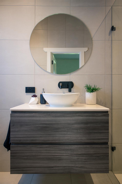Ensuite project: a spacious design - bathroom vanity