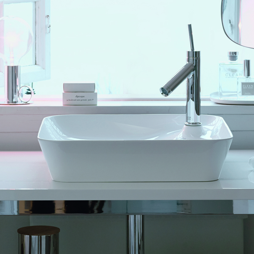 An innovative design: Philippe Starck's Cape Cod washbowl - Cape Cod square washbowl basin by Philippe Starck