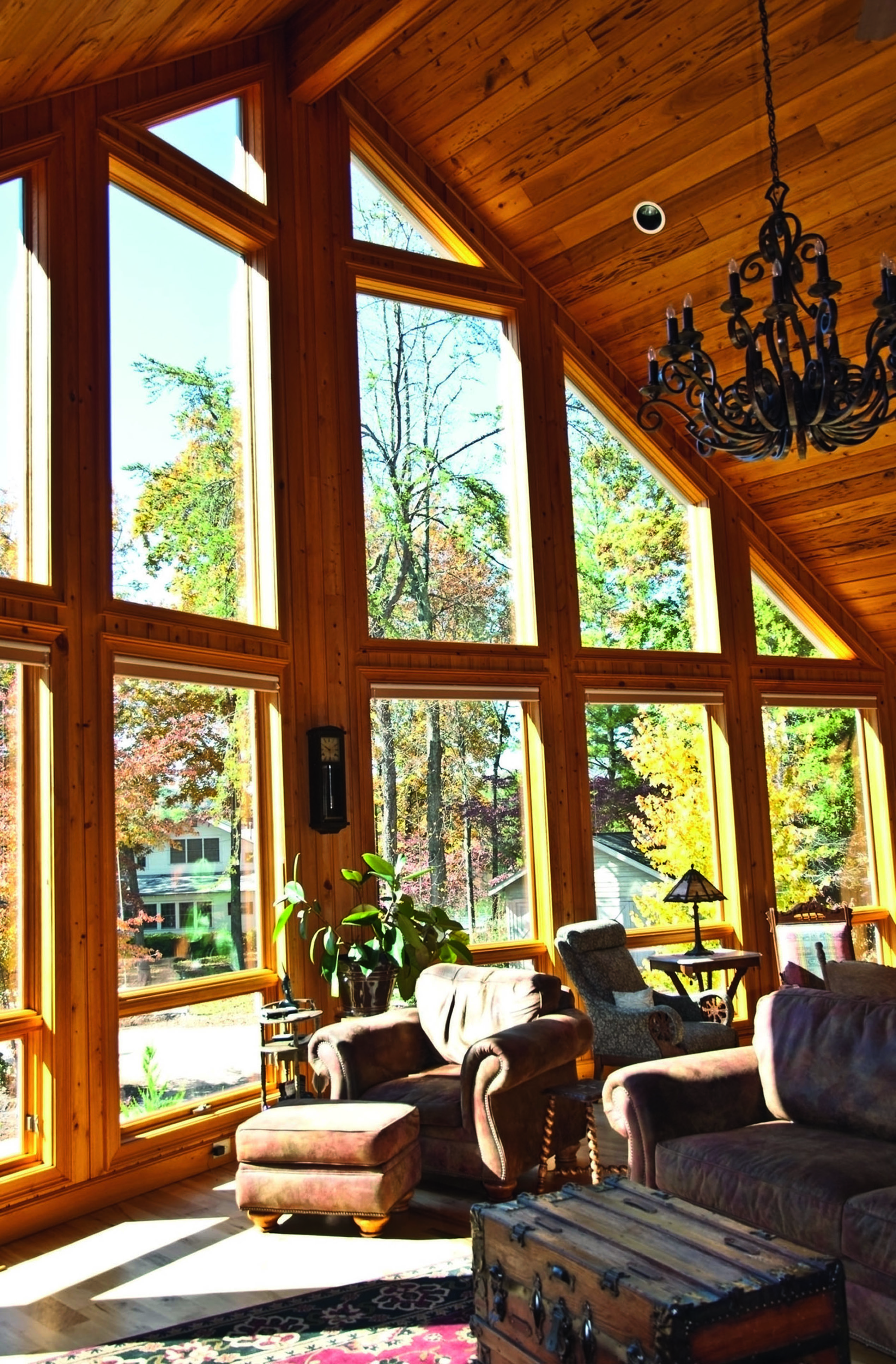 3 things to consider when building your timber kit home - wooden home interior