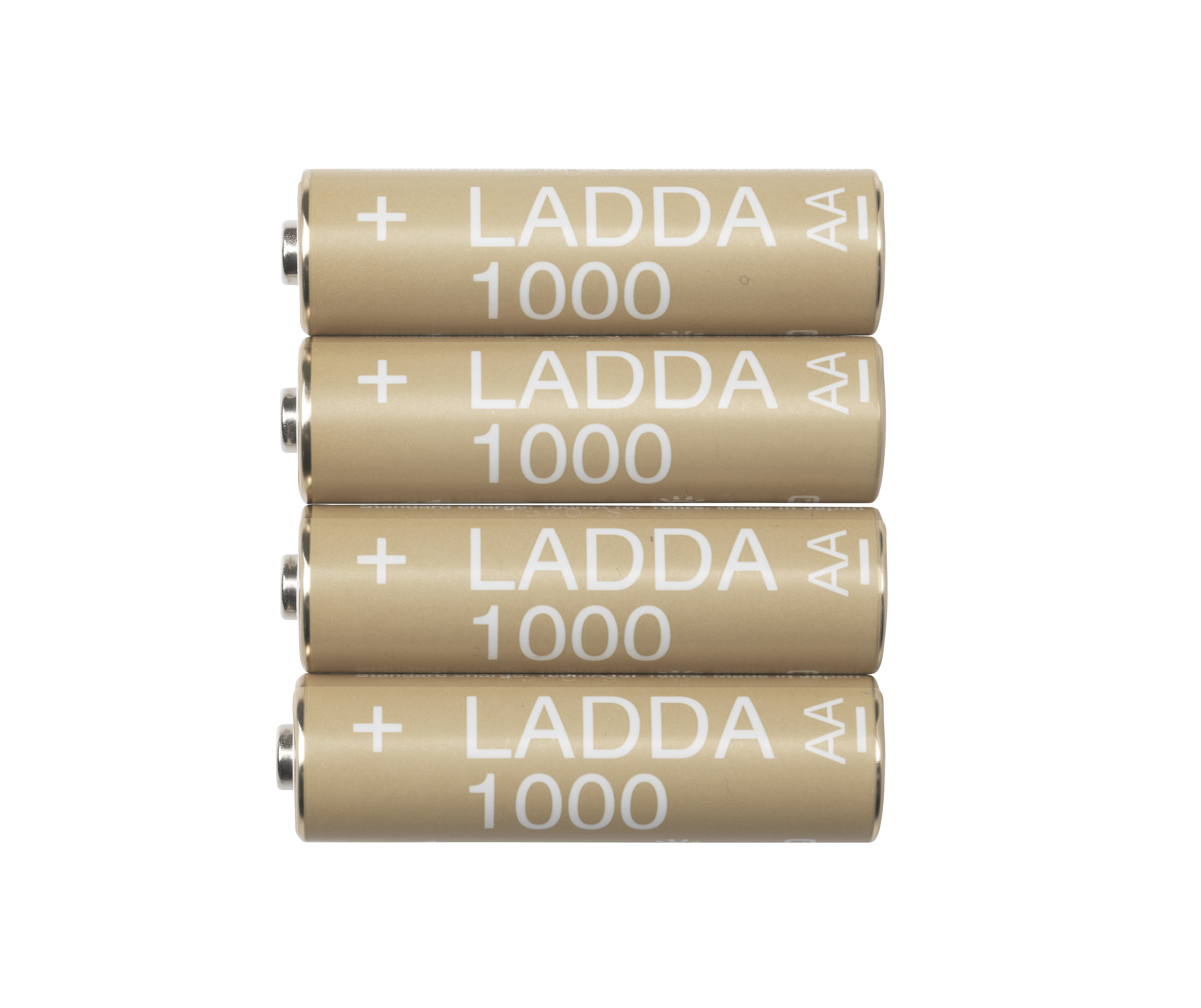 Stylish rechargeable batteries: IKEA launches new range - LADDA battery 1000 high power