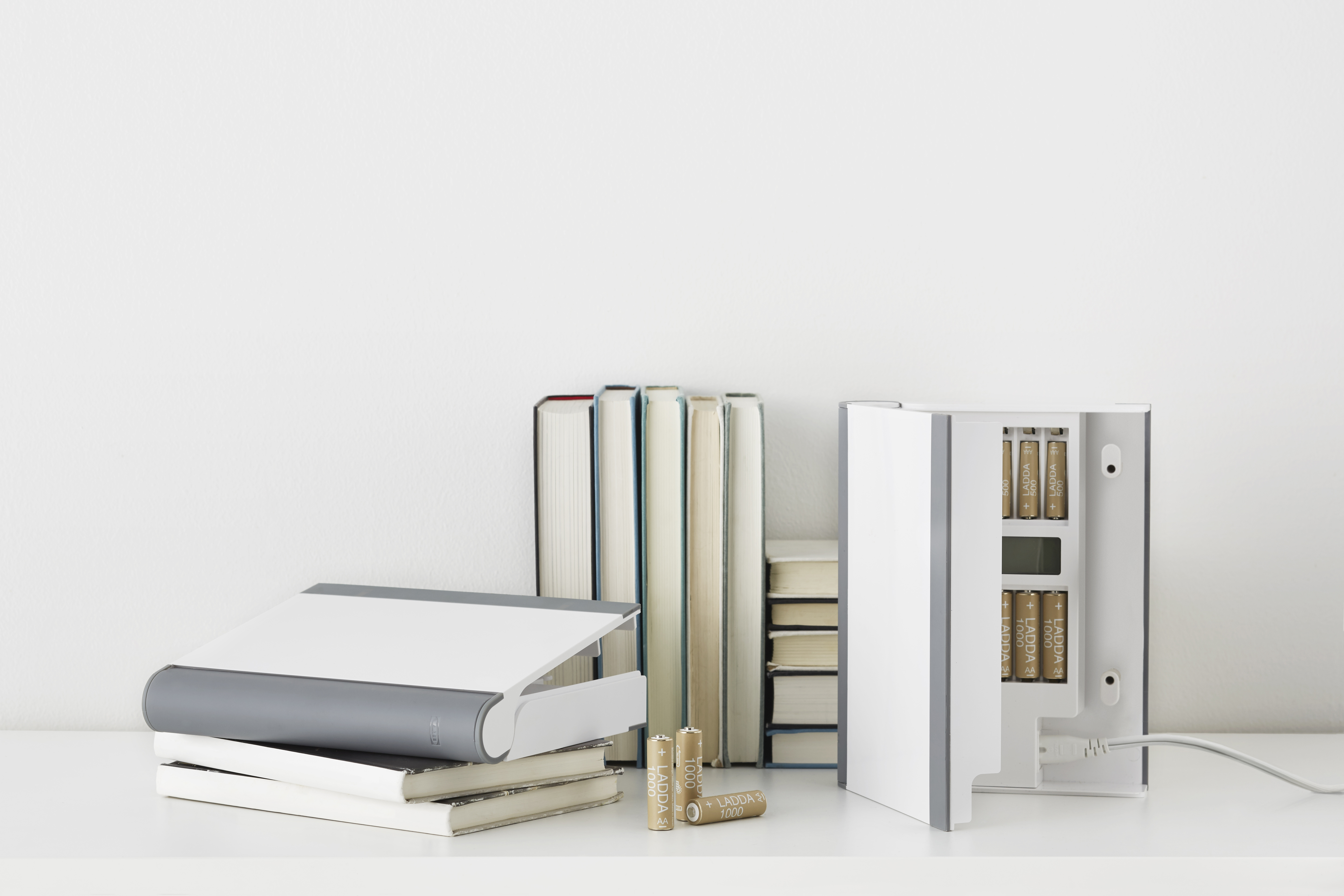 Stylish rechargeable batteries: IKEA launches new range - STORHOGEN battery charger can be disguised as a book to blend seamlessly into your home