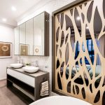 Luxe living: an elegant contemporary bathroom
