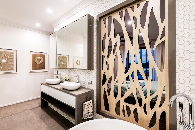Luxe living: an elegant contemporary bathroom