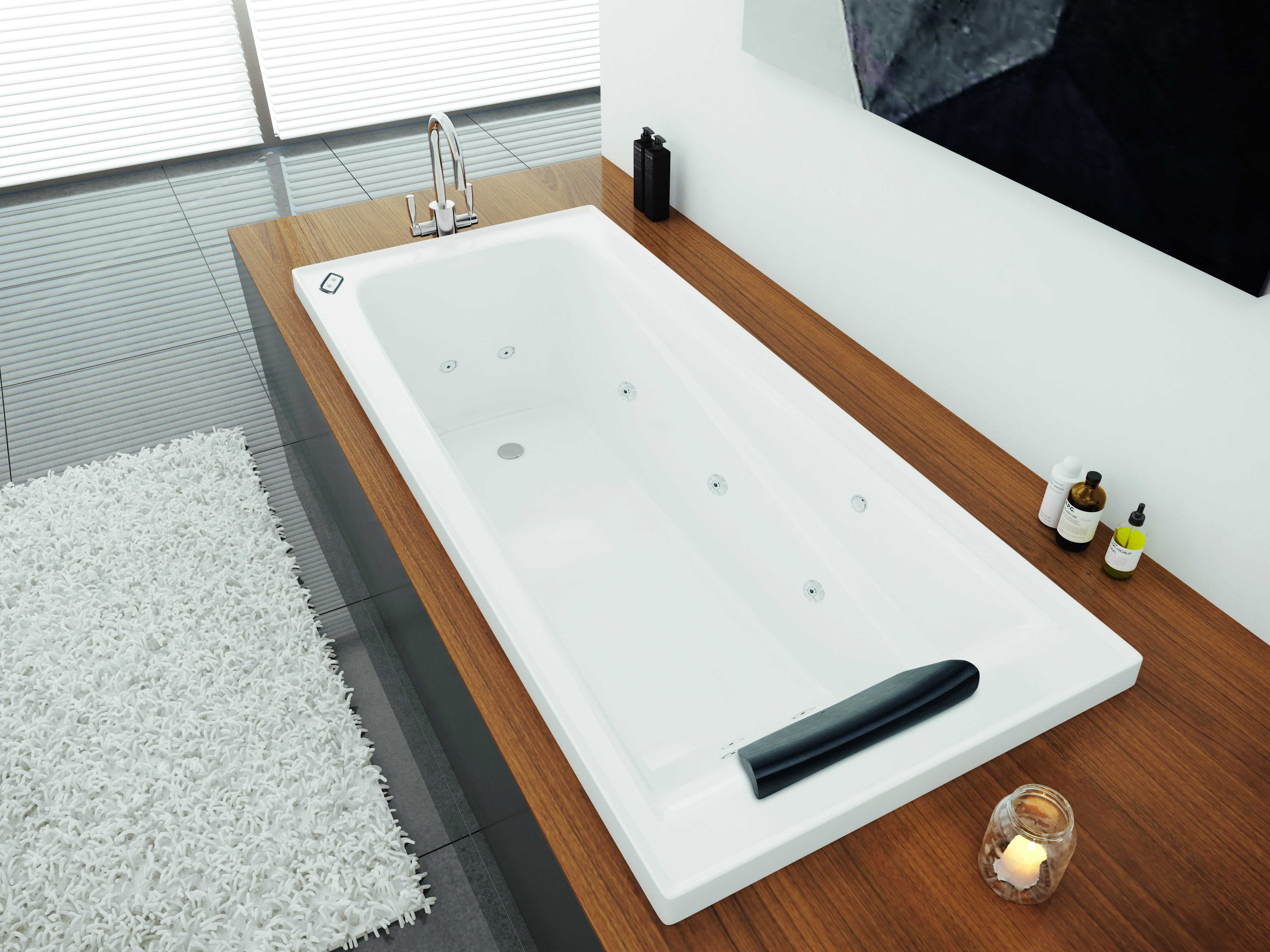 4 baths to help you recreate day spa ambience at home - inside Decina bath