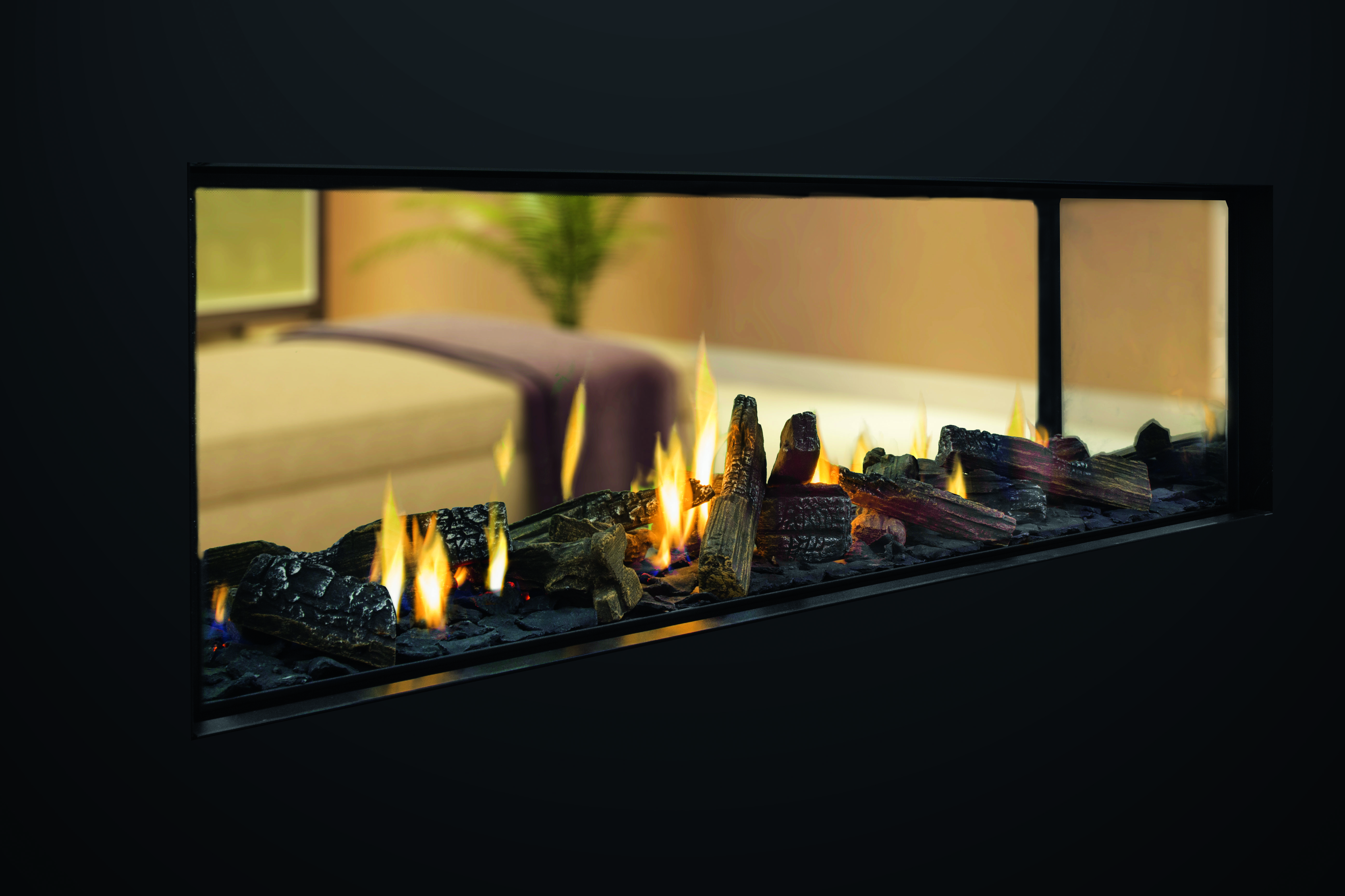 Escea ds1400: the 'anywhere' frameless gas fireplace