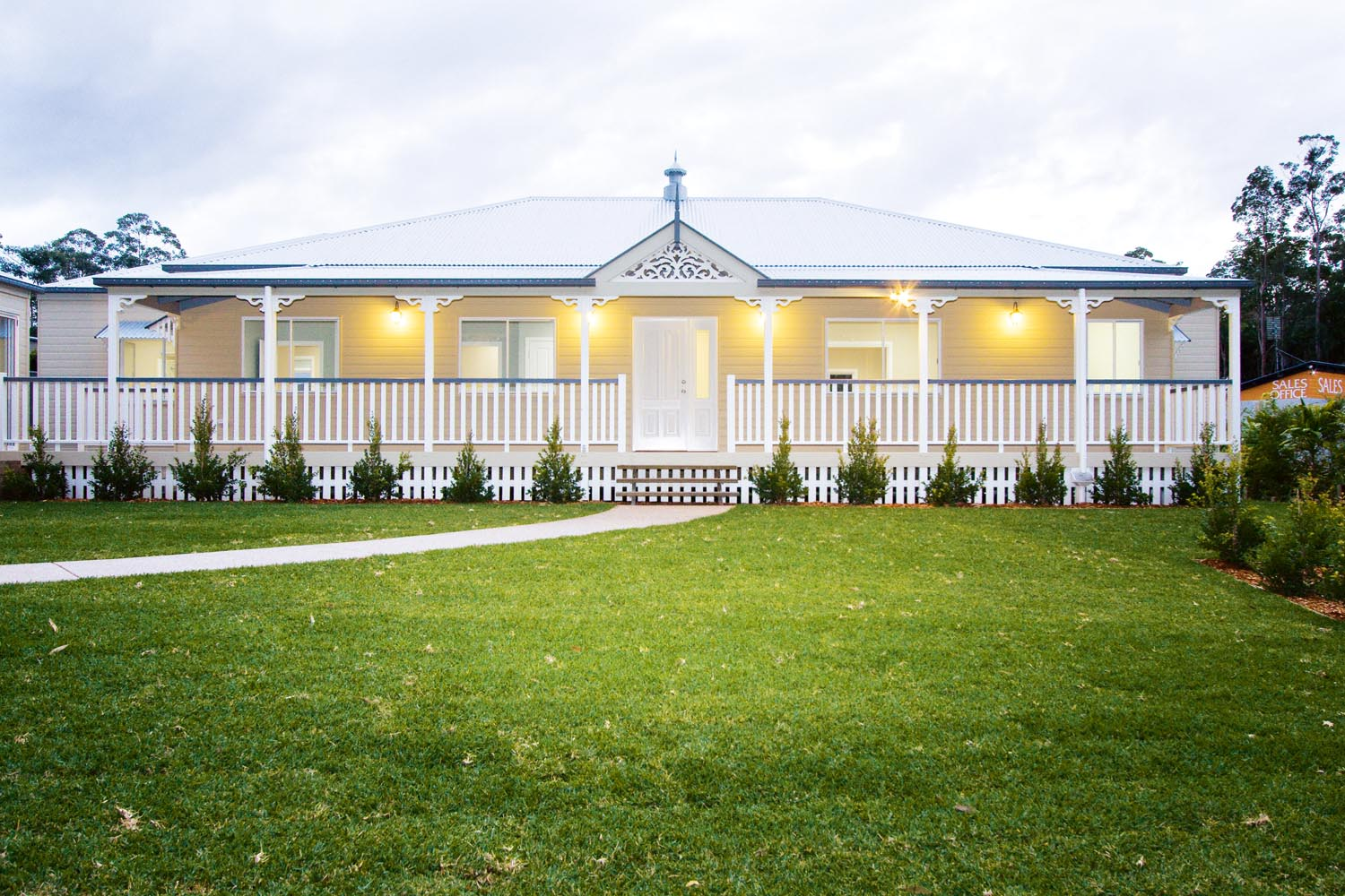 More for less: a classic Queenslander home - exterior front view
