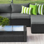 Black wicker: get inspired by these outdoor living ideas