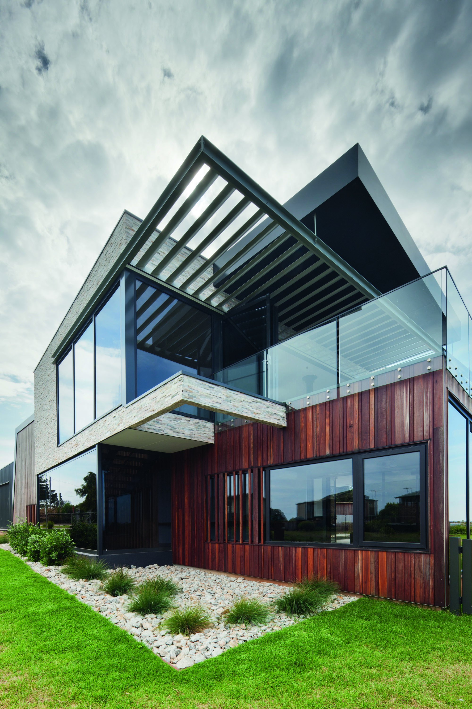 Grand Designs Australia: Black Box - the Rhyll House - house exterior - featured photo