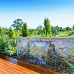 Country pool escape: rural tranquility