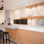 """Elegant beauty"": a bright and airy kitchen design"