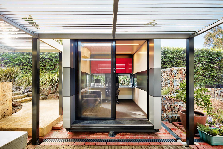 Office, studio or living room? Look to your garden - Harwyn Pod outdoor room