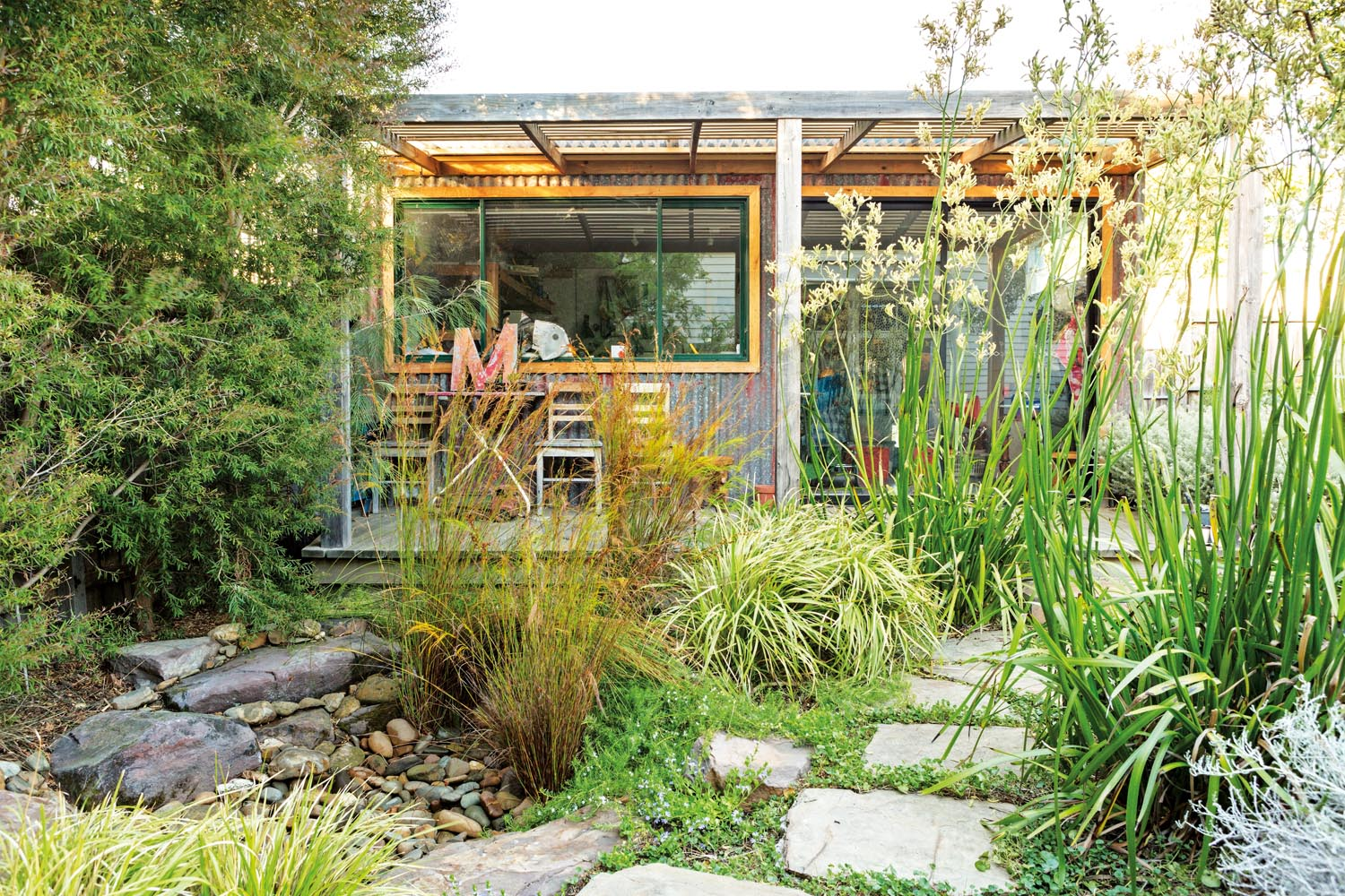 Office, studio or living room? Look to your garden - Marian Long Landscape Architecture outdoor room