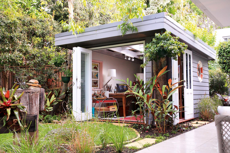 Office, studio or living room? Look to your garden - Adore my Garden outdoor room