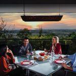 Fresco Aurora: outdoor heating radiance