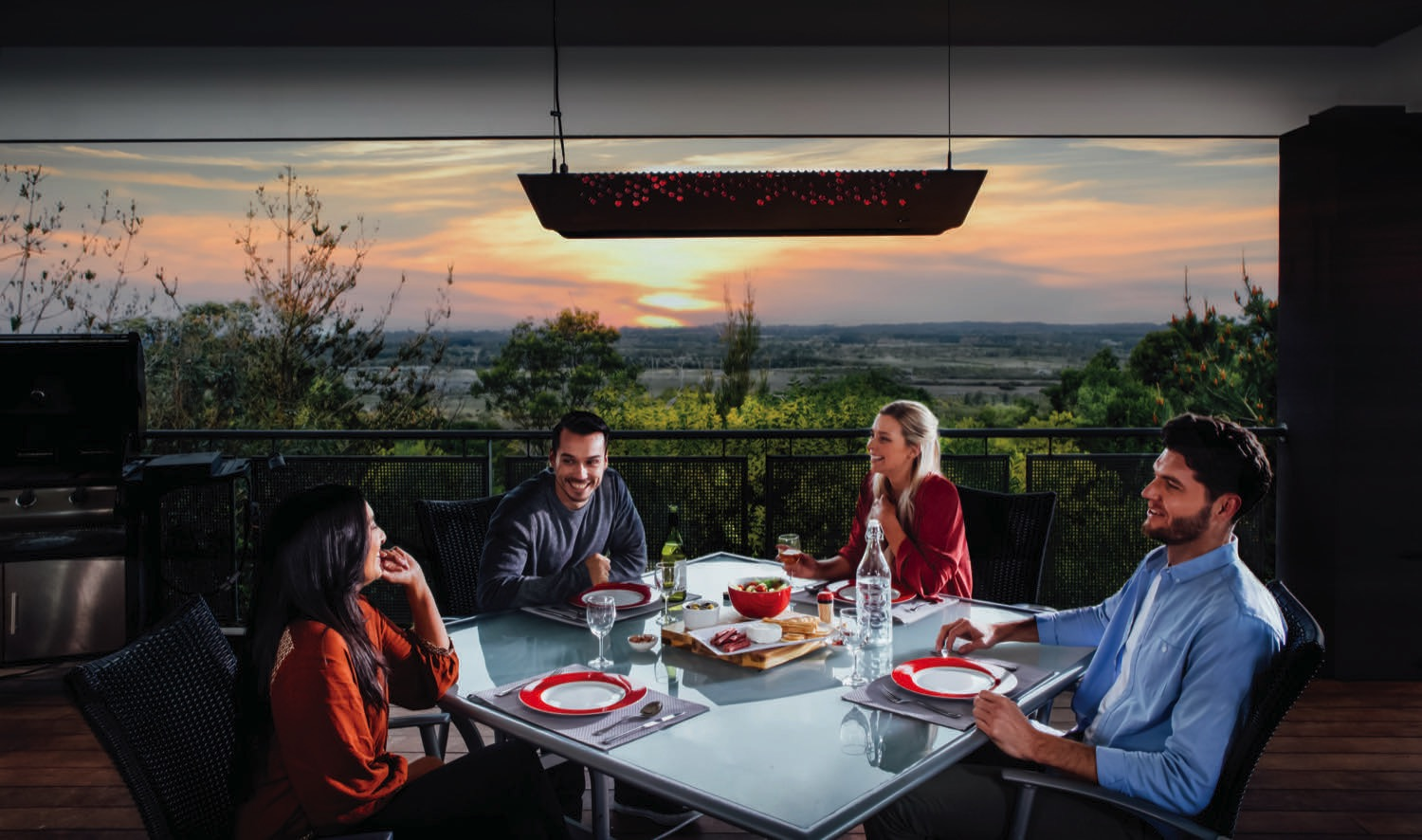 Fresco Aurora: outdoor heating radiance