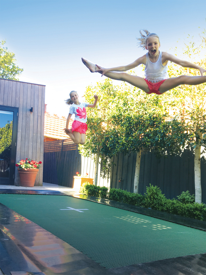 5 things to consider when choosing a trampoline for your backyard - in-ground trampolines