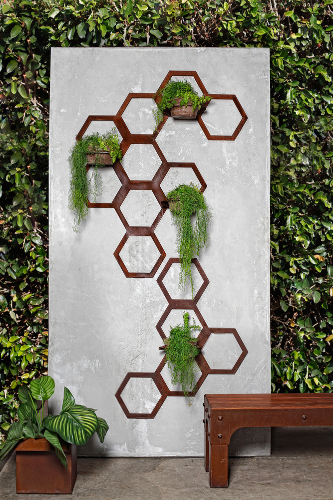 Hex Vertical Garden: Stylish indoors and out