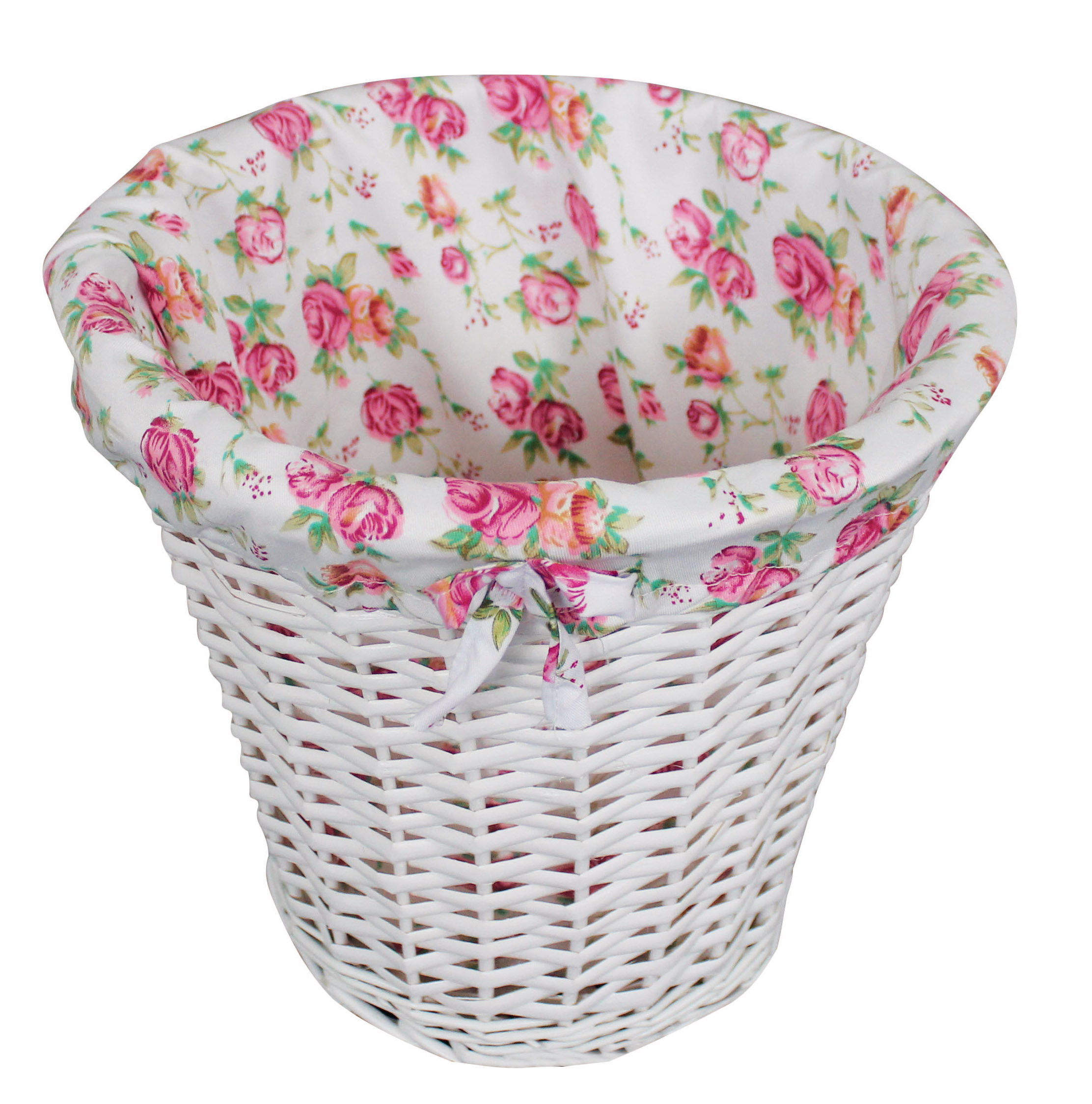 Pastel Laundry wicket basket